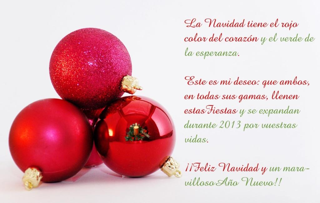 ¡Felices fiestas 2013!
