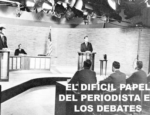 El difícil papel del Periodista en los Debates