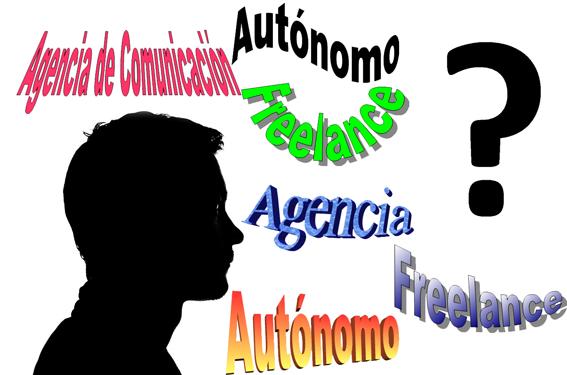 Elegir entre autónomo freelance o agencia de Comunicación