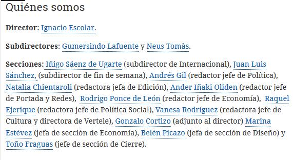 Organigrama de eldiario.es