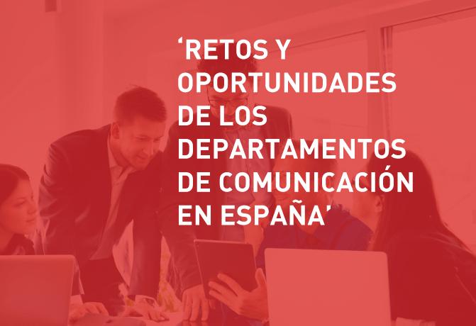 Portada - Retos y oportunidades de los dptos de Com en España