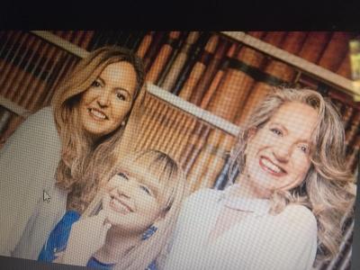 Fátima, Vilma y Ana Tres damas con marca