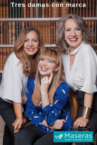 portada libro Tres damas con marca