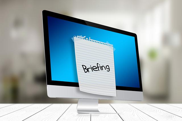 redactar un briefing