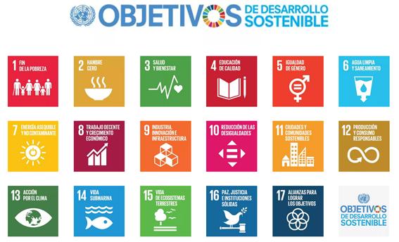 Objetivos de desarrollo sostenible - ONU